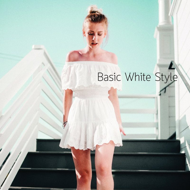 Basic White Style สินค้าพรีออเดอร์ ซื้อของออนไลน์จากจีน