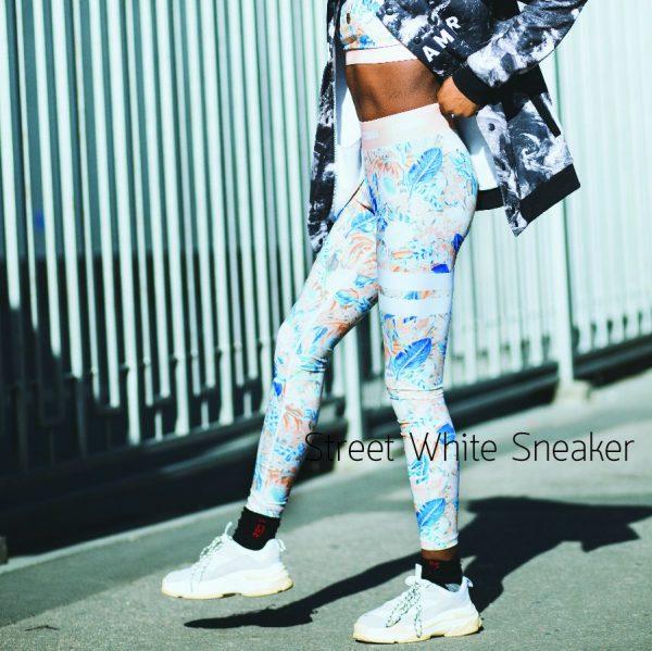 Street White Sneaker สินค้าพรีออเดอร์ ชิปปิ้งสินค้าจากจีน ซื้อของออนไลน์จากจีน