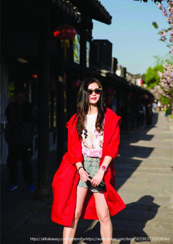 Taobao สินค้านำเข้าจากจีน  Taobao สั่งซื้อเสื้อเทรนช์โค้ทกับของมันต้องมี Print 01 1