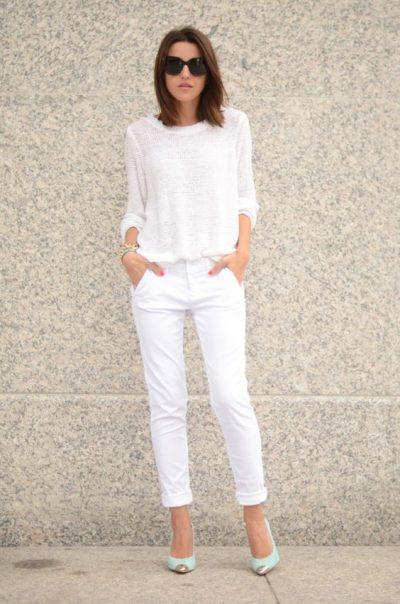 เถาเป่ากับ 5 ทริคในการใส่กางเกงยีนส์สีขาว