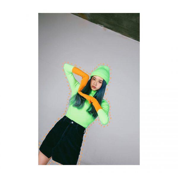 พรีออเดอร์จีนกับเสื้อผ้าสีเขียวนีออน เทรนด์สุดฮิตที่กำลังกลับมา
