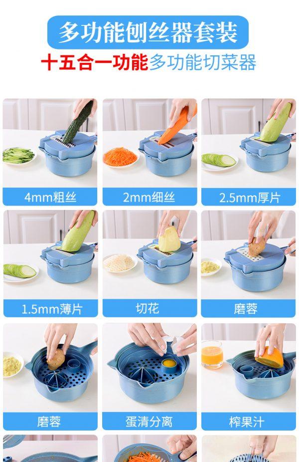 สั่งสินค้าจากจีน เครื่องหันผัก ที่ช่วยให้การทำครัวเป็นเรื่องง่าย