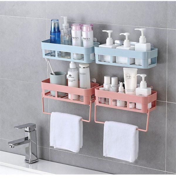 สินค้านำเข้าจากจีน จัดระเบียบห้องน้ำ ด้วยอุปกรณ์จัดเก็บของ