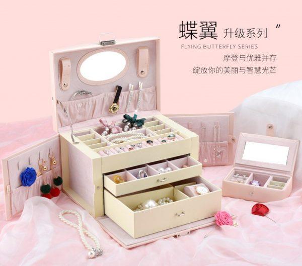 สั่งสินค้าจากจีน กล่องเก็บเครื่องประดับ ช่วยดูแลรักษาเครื่องประดับคุณ TB2X2qTajfguuRjSspkXXXchpXa 2003981187 600x529