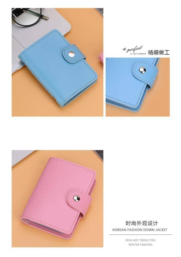 Taobao กระเป๋าใส่บัตร จัดการบัตรต่าง ๆ ได้อย่างเป็นระเบียบ